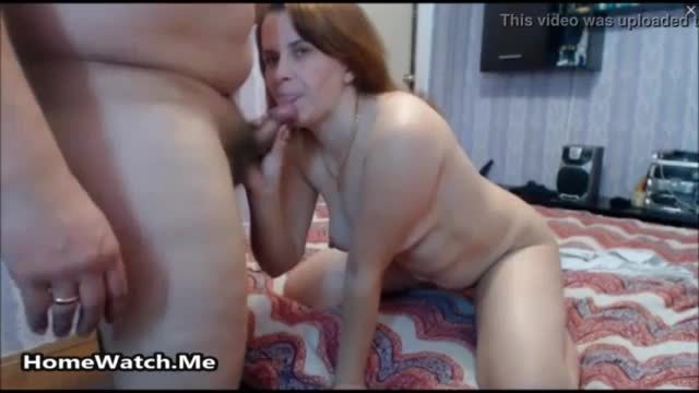 Cocksucking wife is never afraid to swallow