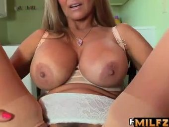 Mom son creampie pov