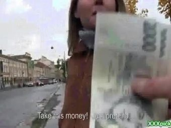 Public pickups presents czech sexy amateur getting banged for cash 35